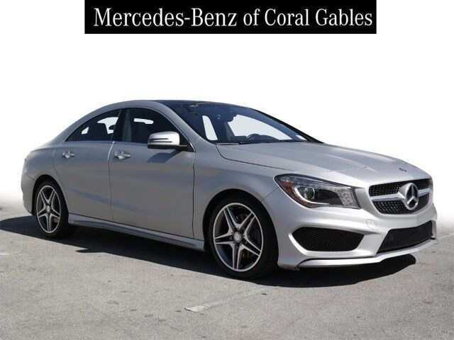 2015 Mercedes-Benz CLA 250 COUPE Coral Gables FL