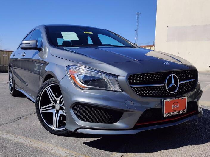 2015 Mercedes-Benz CLA 250 sport El Paso TX