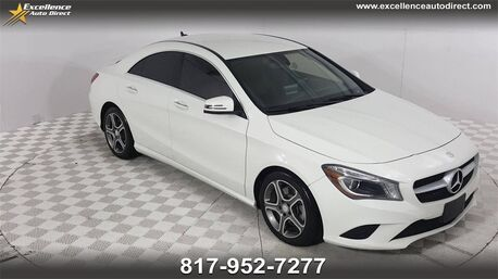 2015_Mercedes-Benz_CLA_CLA 250 PADDLE SHIFTER,BCK-CAM,BLUETOOTH,BUCKET SEATS..._ Euless TX