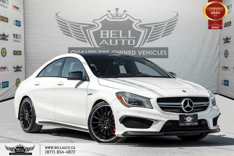 2015 Mercedes-Benz CLA-Class CLA 45 AMG, AWD, NAVI, REAR CAM, B.SPOT, RECARO Toronto ON