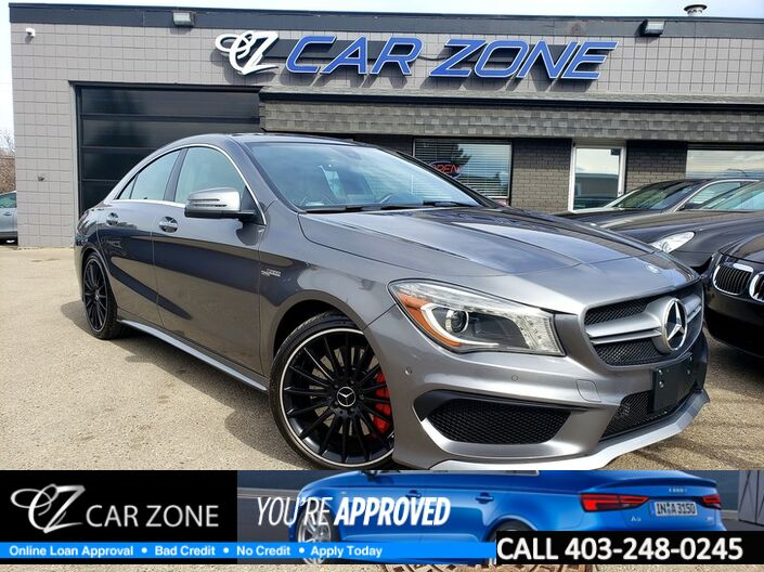 2015 Mercedes-Benz CLA-Class CLA 45 AMG Performance Pack Calgary AB
