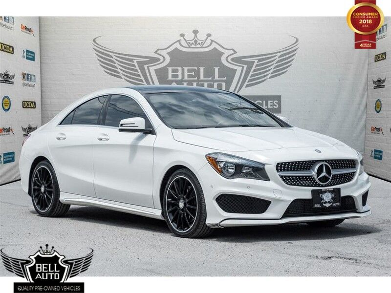 2015 Mercedes-Benz CLA250 4MATIC AMG NAVIGATION SUNROOF LEATHER INTERIOR PARKING SENORS