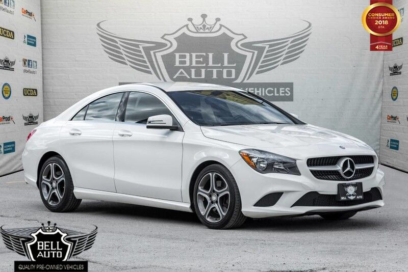 2015 Mercedes-Benz CLA250 4MATIC NAVI LEATHER INTERIOR BACK-UP CAM BLIND SPOT