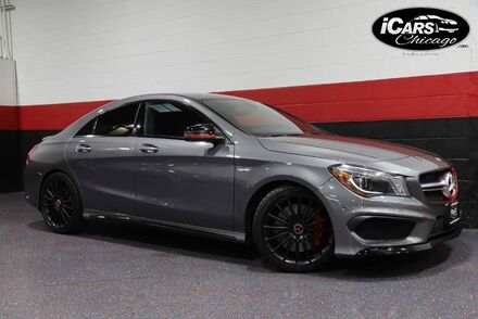 2015_Mercedes-Benz_CLA45 AMG_4-Matic Performance Studio Package 4dr Sedan_ Chicago IL