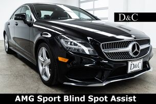 2015 Mercedes-Benz CLS CLS 400 AMG Sport Blind Spot Assist
