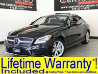 Mercedes-Benz CLS550 4MATIC SPORT PKG DISTRONIC PLUS BLIND SPOT ASSIST LANE KEEP ASSIST 2015