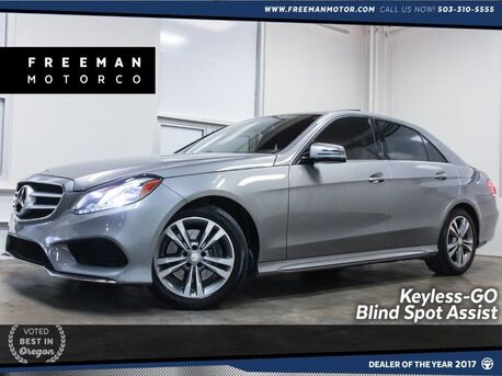2015_Mercedes-Benz_E 250_BlueTEC Blind Spot Assist Backup Cam_ Portland OR