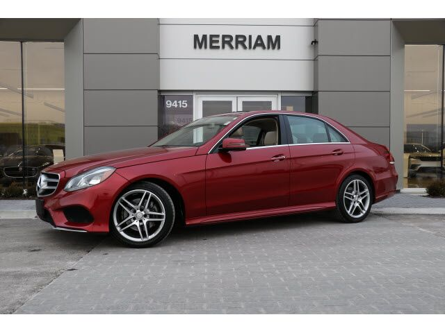 2015 Mercedes-Benz E 350 4MATIC® Sedan Merriam KS