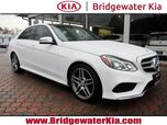 2015 Mercedes-Benz E 350 4MATIC Sport Sedan, Navigation System, Rear-View Camera, Harman Kardon Surround Sound, Heated Leather Seats, Panorama Sunroof, Full LED Headlamps, 18-Inch AMG Alloy Wheels,