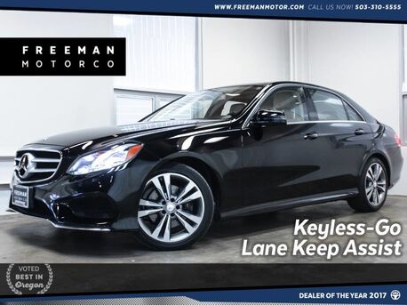 2015_Mercedes-Benz_E 350_Blind Spot Assist Keyless-GO Heated Seats_ Portland OR