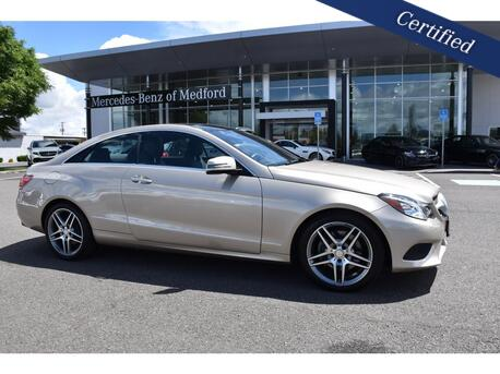2015_Mercedes-Benz_E_400 4MATIC® Coupe_ Medford OR
