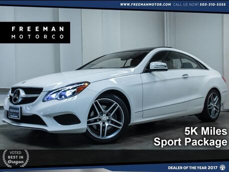 2015_Mercedes-Benz_E 400_5K Miles Sport Package Htd/Cooled Seats_ Portland OR