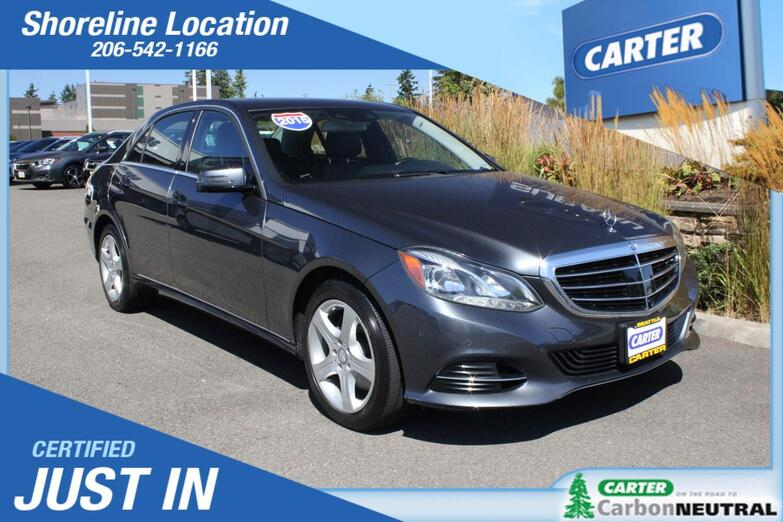 2015 Mercedes-Benz E-Class E 350 Luxury Seattle WA