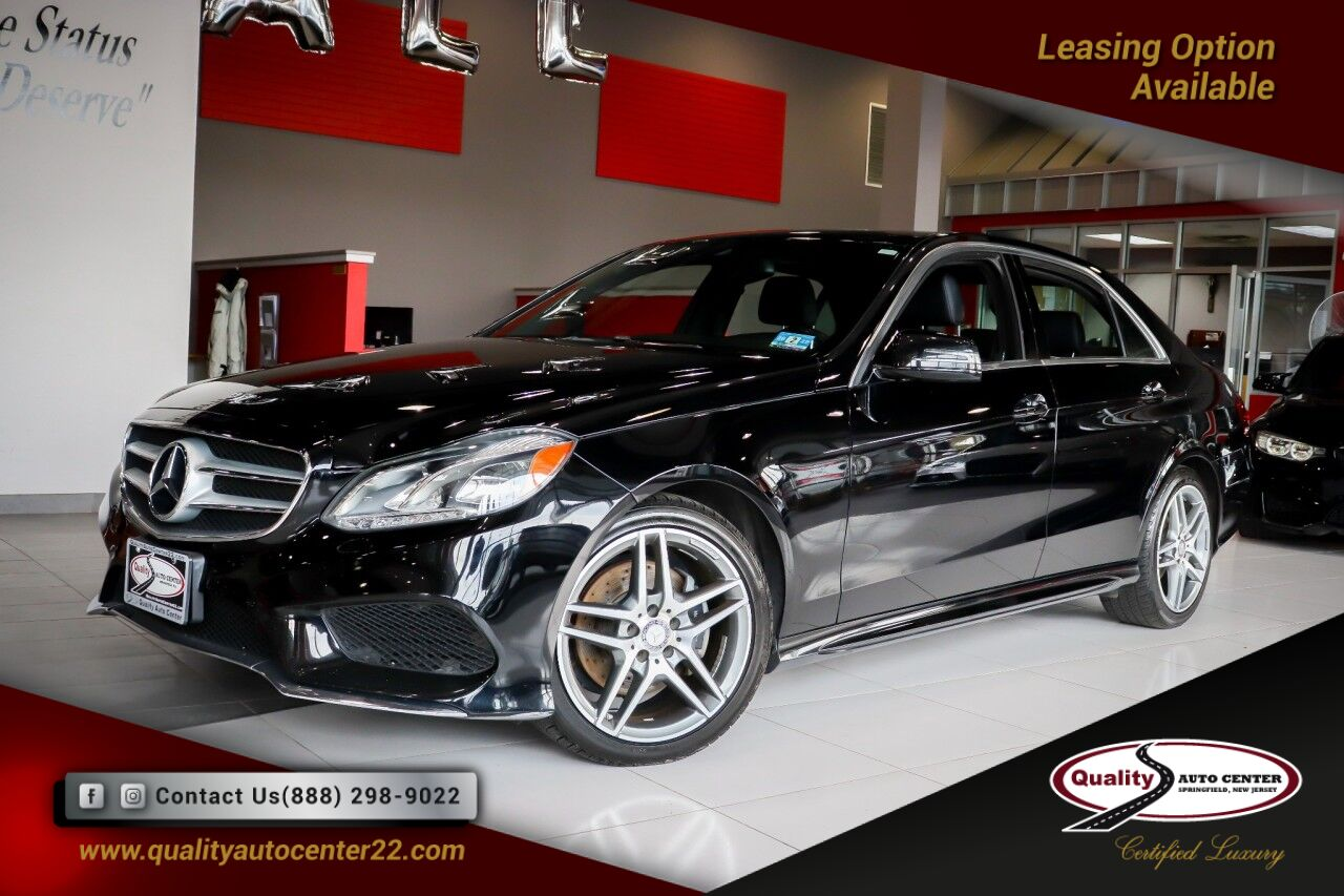 2015 Mercedes-Benz E-Class E 350 Premium1 Pkg Nav Blind Spot Driver Assist Springfield NJ