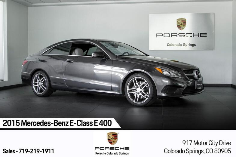 2015 Mercedes-Benz E-Class E 400 Colorado Springs CO
