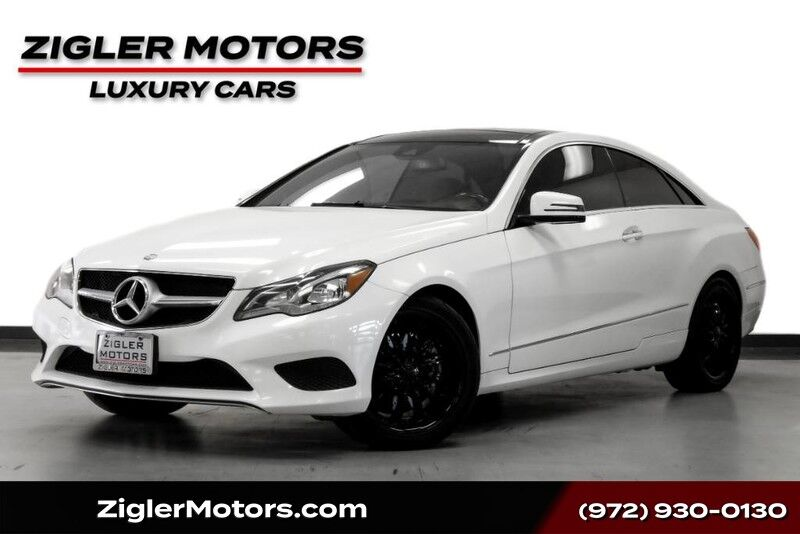 2015 Mercedes-Benz E-Class E 400 Coupe Panoramic Roof Driver Assist Active Cruise Blind Spo Addison TX
