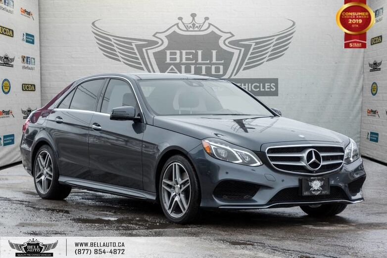2015 Mercedes-Benz E-Class E 400, NO ACCIDENT, AWD, NAVI, 360 CAM, SENSORS Toronto ON