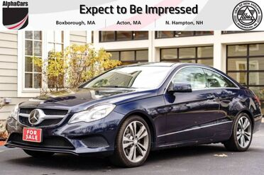 2015_Mercedes-Benz_E400_4Matic Coupe_ Boxborough MA