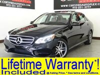 Mercedes-Benz E400 SPORT PKG LANE TRACKING PKG BLIND SPOT ASSIST LANE KEEP ASSIST PARKTRONIC 2015