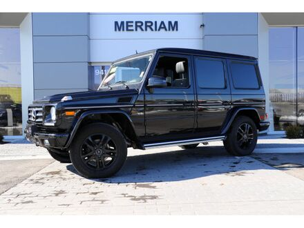 2015_Mercedes-Benz_G_550 SUV_ Merriam KS