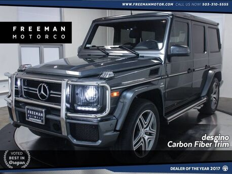 2015_Mercedes-Benz_G 63_AMG Handcrafted V8 designo Exclusive Interior_ Portland OR