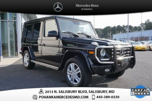 2015_Mercedes-Benz_G-Class_G 550 4MATIC®  ***  MERCEDES-BENZ CERTIFIED  ***_ Salisbury MD