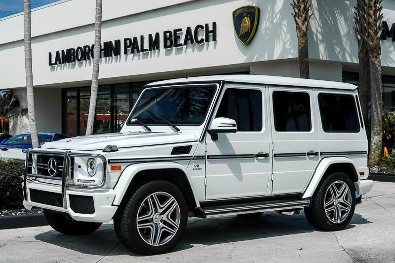 2015_Mercedes-Benz_G-Class_G 63 AMG_ Palm Beach FL