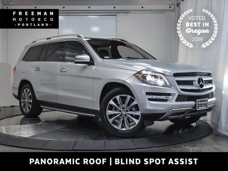 2015_Mercedes-Benz_GL 450_4MATIC 3rd Row Pano Blind Spot Assist Rear DVD_ Portland OR