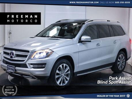 2015_Mercedes-Benz_GL 450_4MATIC Pano Blind Spot Assist Park Assist 7 Seats_ Portland OR