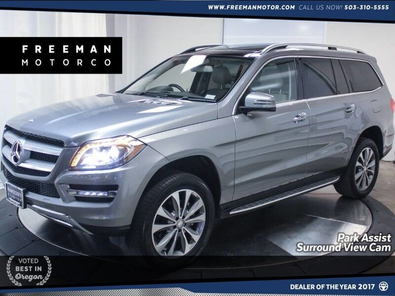 2015 Mercedes-Benz GL 450 4MATIC Park Asst Blind Spot Asst Surround View Cam Portland OR