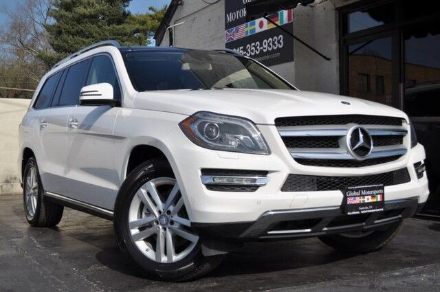 2015 Mercedes-Benz GL-Class GL 450 4MATIC/Keyless Go, Heated & Cooled Cup Holders/Lane Tracking Pkg w/ Blind Spot Assist & Lane Keep Assist/Parktronic/Lighting Pkg/Rear Seat Entertainment/Pano Roof/Power Folding 2nd Row Nashville TN