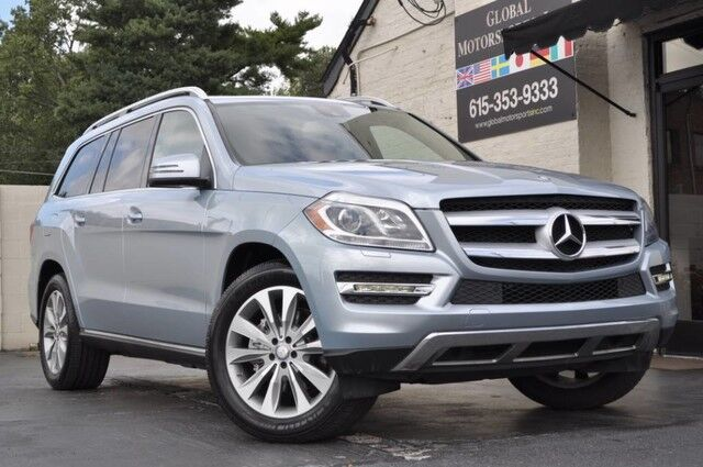 2015 Mercedes-Benz GL-Class GL 450 4MATIC/Prem Pkg w/ Navi, Keyless-Go, Heated & Cooled Cup Holders/Heated Front Seats/Heated Steering Wheel/Appearance Pkg/Tow Pkg/Open-Pore Brown Ash Wood Trim/Power Folding 2nd & 3rd Rows Nashville TN