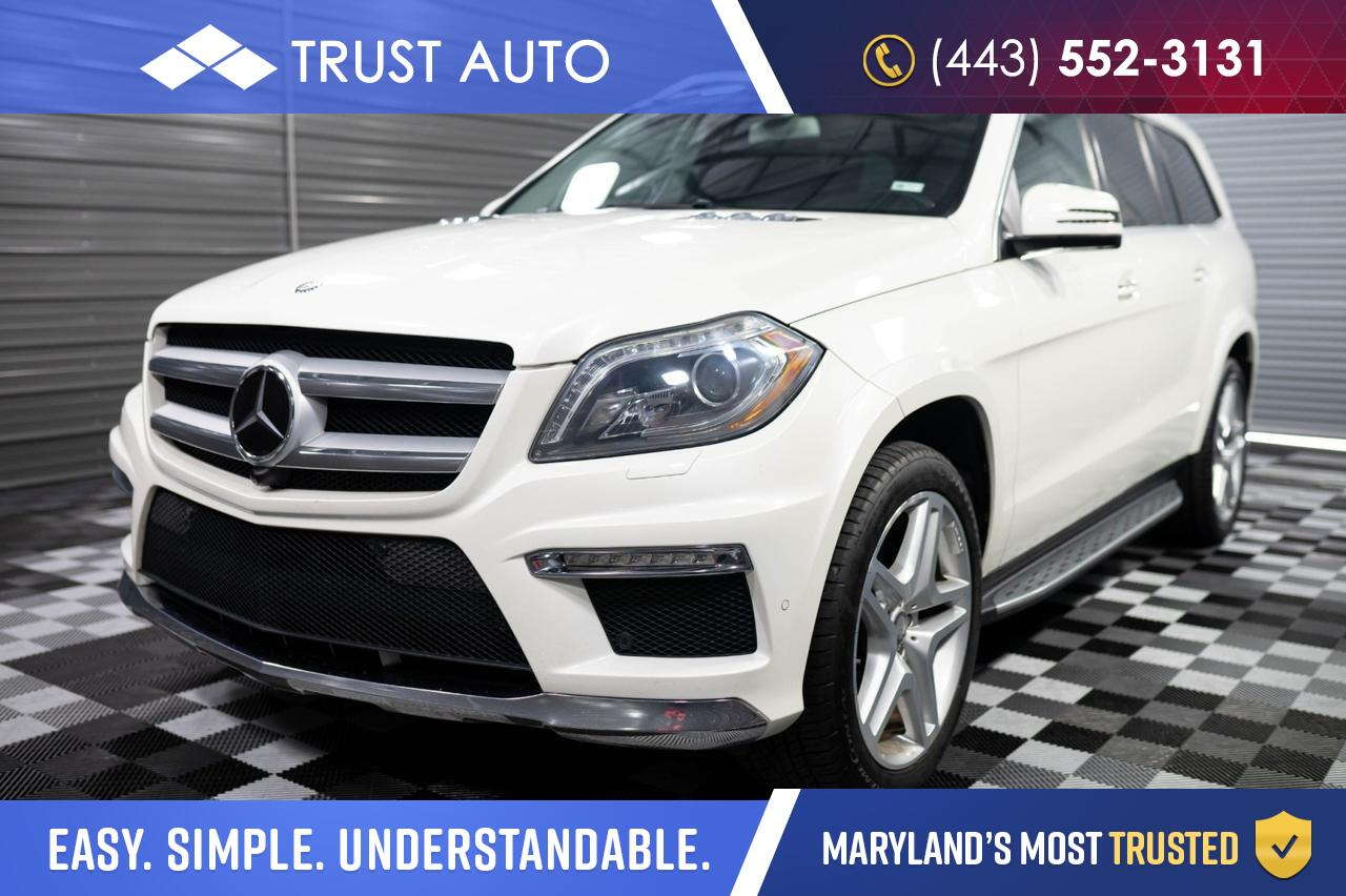 2015 Mercedes-Benz GL-Class GL 550 4MATIC AWD DVD 7-Pass Luxury SUV Sykesville MD