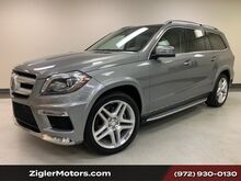 2015_Mercedes-Benz_GL-Class_GL 550 AMG One Owner Clean Carfax 21 Inch AMG Wheels Panoramic Roof Active Cruise Blind Spot Lane Change Assist 360 Camera_ Addison TX