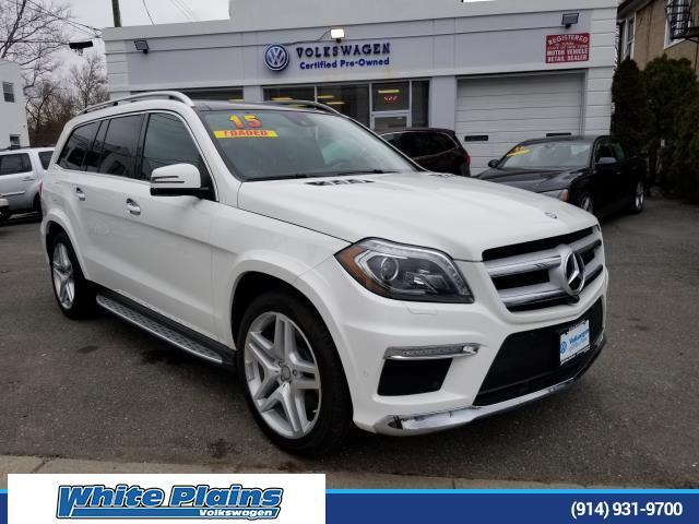 2015 Mercedes-Benz GL-Class GL550 SUV White Plains NY