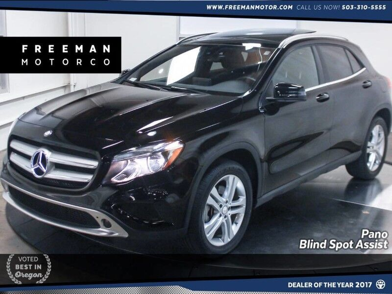 2015 Mercedes-Benz GLA 250 4MATIC Blind Spot Assist Pano Back-Up Cam Portland OR