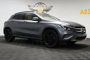 2015_Mercedes-Benz_GLA-Class_GLA 250 4MATIC Fully Matt Gray Wrap Blind Spot Fresh Trade_ Houston TX