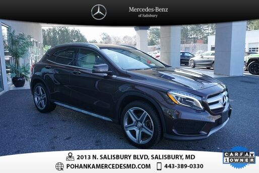 2015_Mercedes-Benz_GLA_GLA 250 4MATIC®  *** MERCEDES-BENZ CERTIFIED  ***_ Salisbury MD