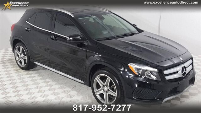 2015 Mercedes-Benz GLA GLA 250 PADDLE SHIFTER,PANO ROOFBCK-CAM,BLUETOOTH,BUCKET S Euless TX