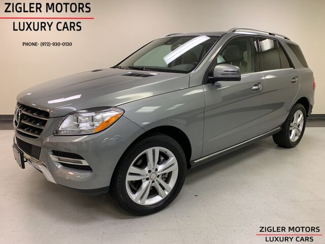 2015 Mercedes-Benz M-Class ML 250 BlueTEC 4Matic Driver Assist Blind Spot Keyless-Go One Owner low miles Clean Carfax. Addison TX