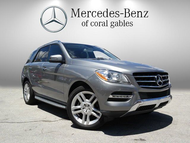 2015 Mercedes-Benz M-Class ML 250 BlueTEC Coral Gables FL