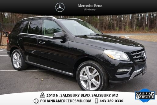 2015_Mercedes-Benz_M-Class_ML 350 4MATIC®  ***  MERCEDES-BENZ CERTIFIED  ***_ Salisbury MD