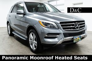 2015_Mercedes-Benz_M-Class_ML 350 4MATIC Panoramic Moonroof Heated Seats_ Portland OR