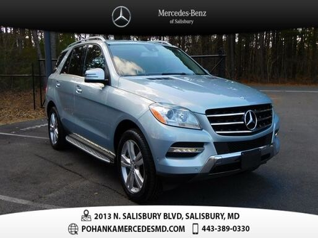 2015_Mercedes-Benz_M-Class_ML 350 4MATIC®_ Salisbury MD
