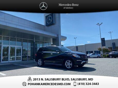 2015_Mercedes-Benz_M-Class_ML 350 4MATIC® ** ALL WHEEL DRIVE **_ Salisbury MD