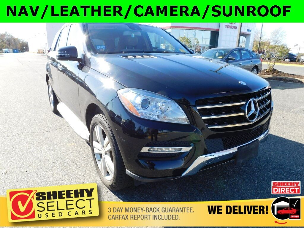 2015 Mercedes-Benz M-Class ML 350 4MATIC® Stafford VA