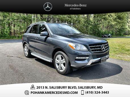 2015_Mercedes-Benz_M-Class_ML 350 4MATIC®** GUARANTEED FINANCING **_ Salisbury MD