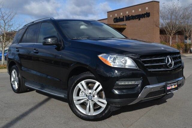 2015 Mercedes-Benz M-Class ML 350/$60,345 MSRP/AWD/Keyless Go/Blind Spot Monitor/Lane Keep Assist/Running Boards/Tow Pkg/Nav/Rear Cam/Heated Seats&Steering Wheel/HK Sound/Illuminated Star Nashville TN