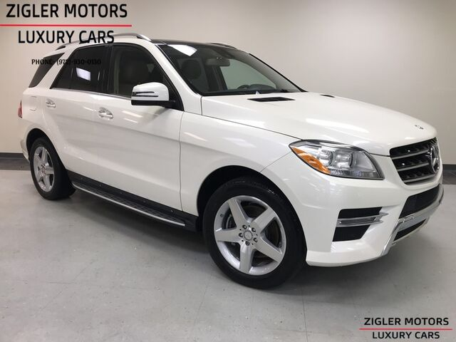 2015 Mercedes-Benz M-Class ML 350 AMG Sport 20 AMG WHLS One Owner Clean Carfax Pano Roof Addison TX