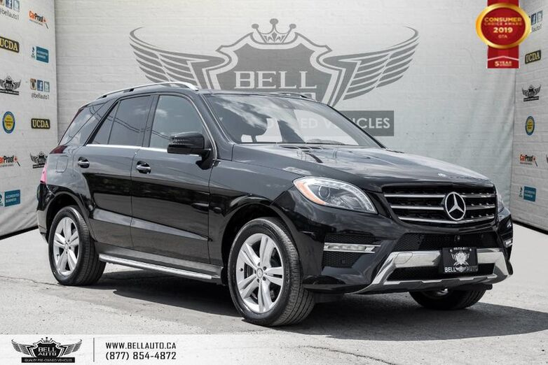 2015 Mercedes-Benz M-Class ML 350 BlueTEC, 360 CAM, NAVI, PANO ROOF, BLINDSPOT Toronto ON